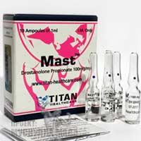 Masteron efekt ot Titan.