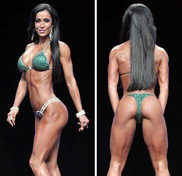 Muskulno razvitie na jena. Колко мускули може да качи жена без стероиди.