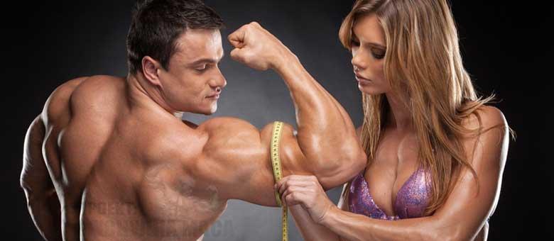 Пълен потенциал на мускулно развитие при мъже и жени. - Колко мускули може да качим без химия?