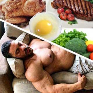 Какво кара мускула да расте и как растат мускулите - тренировка + спане + ядене!